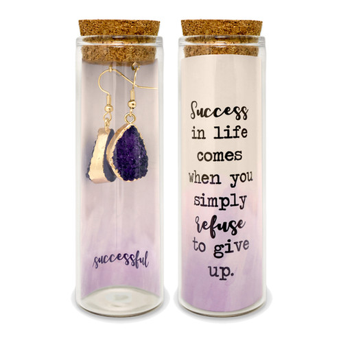 ♥Embrace Your Message Druzy Earrings Mini Collection♥- 12 Bottles