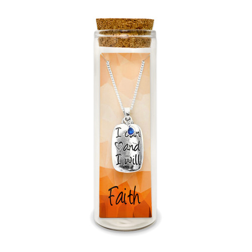 Embrace Your Message- Saying Necklace / Faith