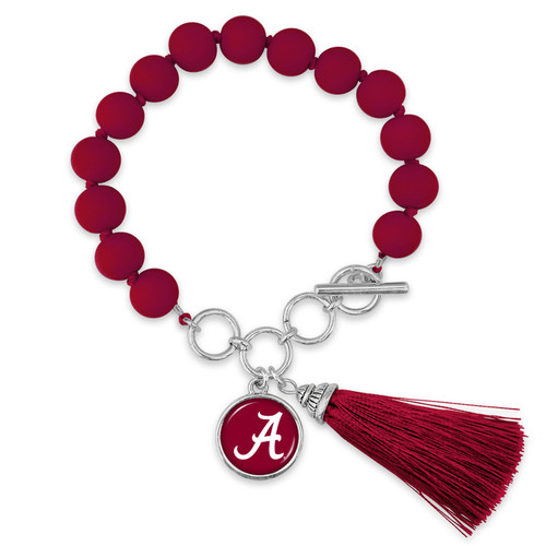 Alabama Crimson Tide Bracelet- No Strings Attached