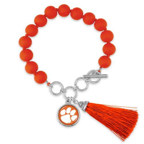Clemson Tigers Bracelet- No Strings Attached