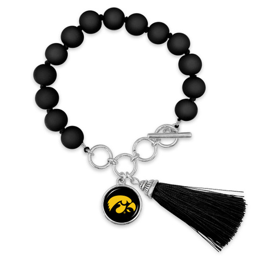 Iowa Hawkeyes Bracelet- No Strings Attached