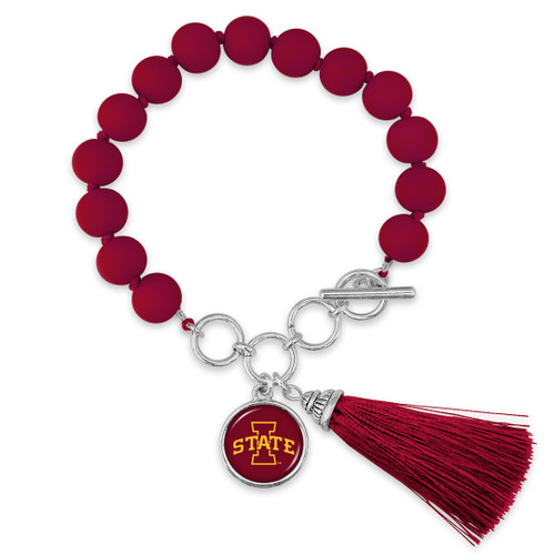 Iowa State Cyclones Bracelet- No Strings Attached