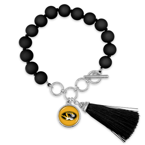 Missouri Tigers Bracelet- No Strings Attached