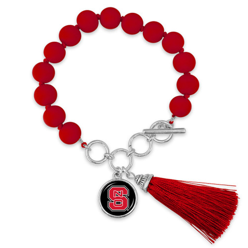 NC State Wolfpack Bracelet- No Strings Attached
