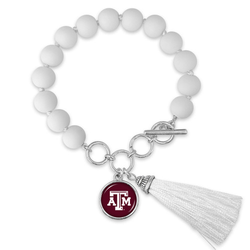 Texas A&M Aggies Bracelet- No Strings Attached
