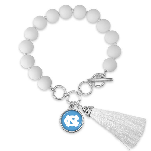 North Carolina Tar Heels Bracelet- No Strings Attached
