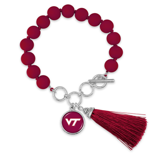 Virginia Tech Hokies Bracelet- No Strings Attached
