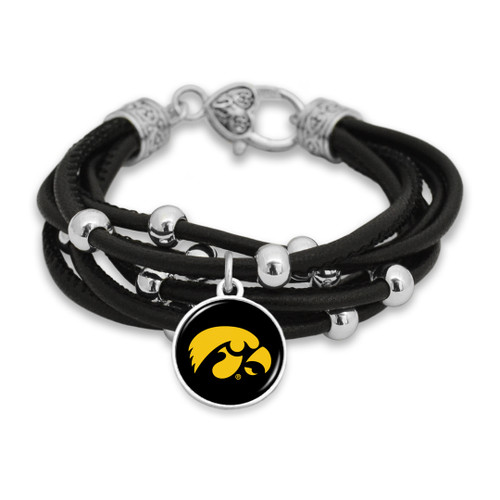 Iowa Hawkeyes Bracelet- Lindy