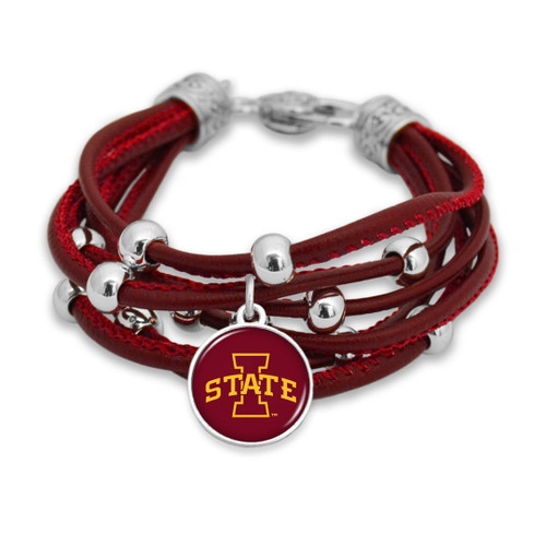 Iowa State Cyclones Bracelet- Lindy