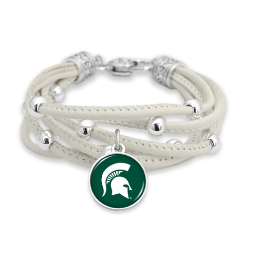 Michigan State Spartans Bracelet- Lindy