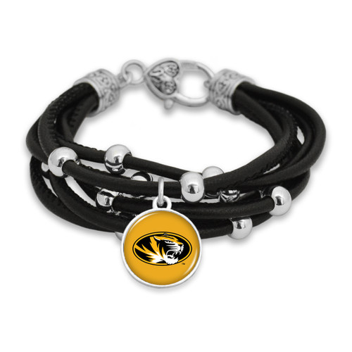 Missouri Tigers Bracelet- Lindy