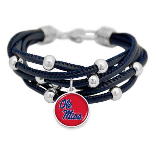 Ole Miss Rebels Bracelet- Lindy