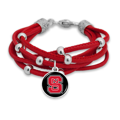 NC State Wolfpack Bracelet- Lindy