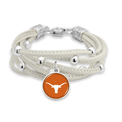Texas Longhorns Bracelet- Lindy
