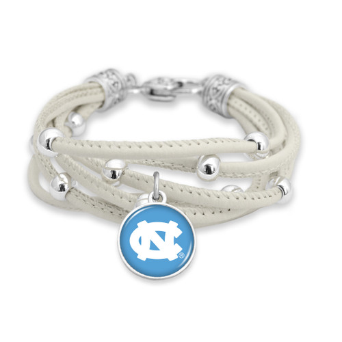 North Carolina Tar Heels Bracelet- Lindy