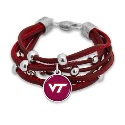 Virginia Tech Hokies Bracelet- Lindy