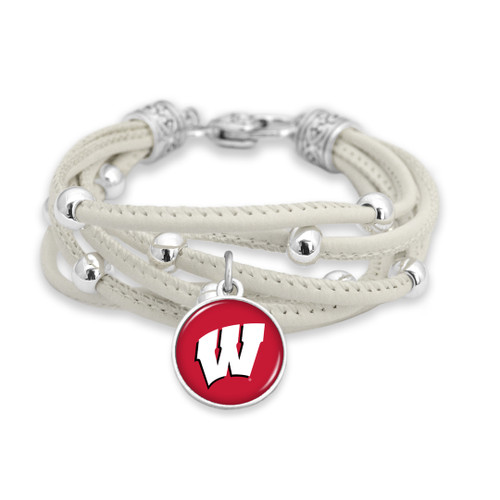 Wisconsin Badgers Bracelet- Lindy