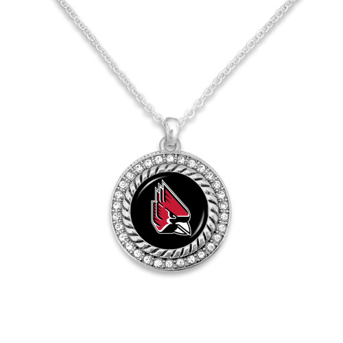 Ball State Cardinals  Necklace- Allie
