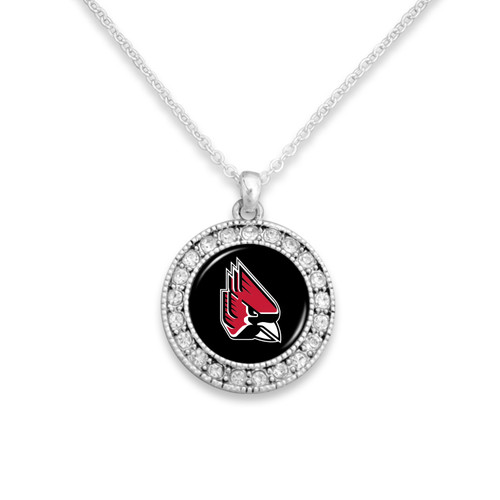 Ball State Cardinals Necklace- Kenzie