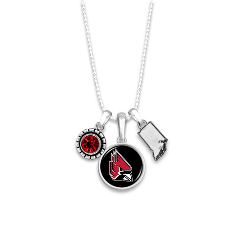 Ball State Cardinals Necklace- Home Sweet School