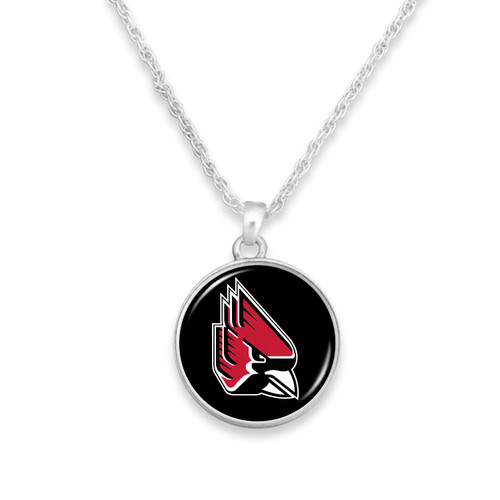 Ball State Cardinals Necklace- Campus Chic