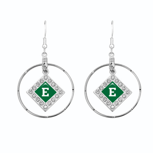 Eastern Michigan Eagles Earrings-  Ellie