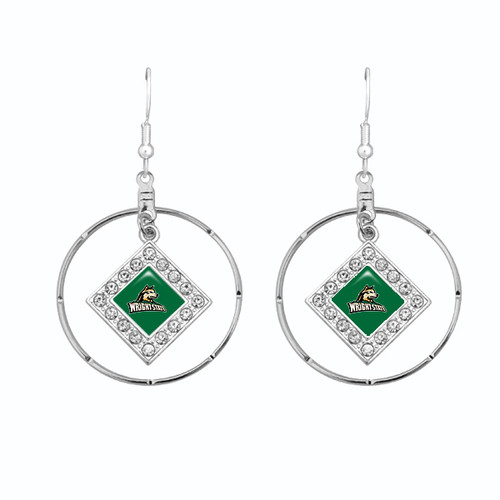Wright State Raiders Earrings-  Ellie