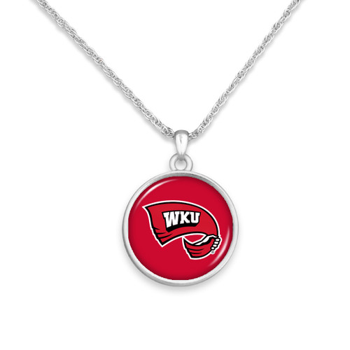 Western Kentucky Hilltoppers Necklace- Campus Chic