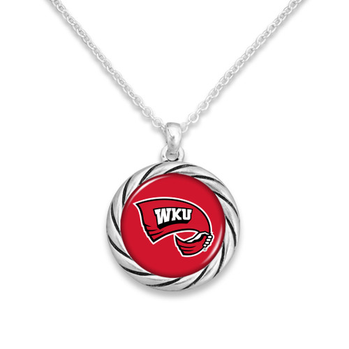 Western Kentucky Hilltoppers Necklace- Twisted Rope