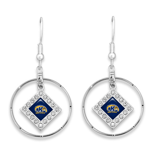 Kent State Golden Flashes Earrings-  Ellie