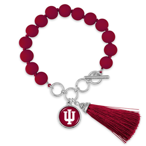 Indiana Hoosiers Bracelet- No Strings Attached