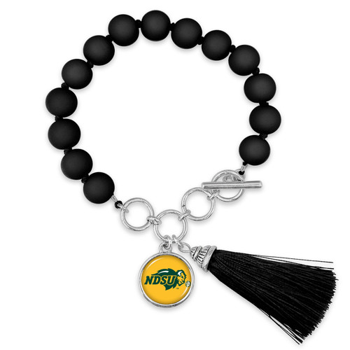 North Dakota State Bison Bracelet- No Strings Attached