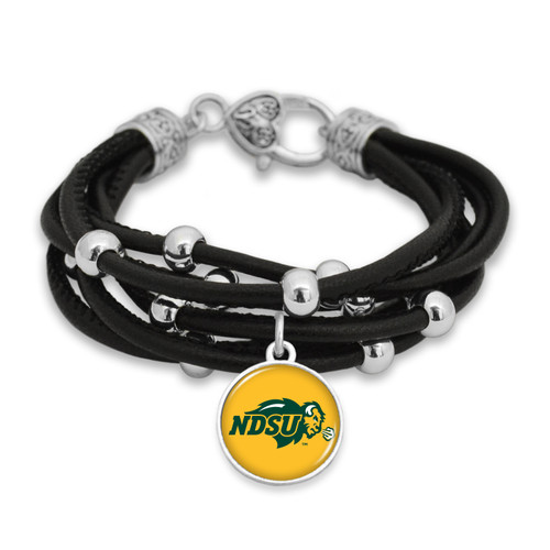North Dakota State Bison Bracelet- Lindy