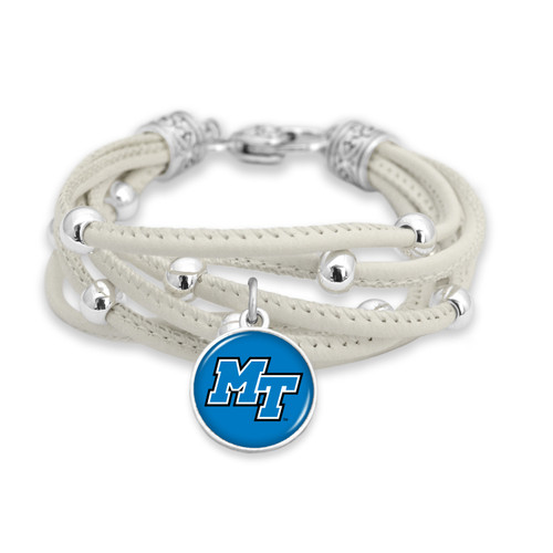 Middle Tennessee State Raiders Bracelet- Lindy