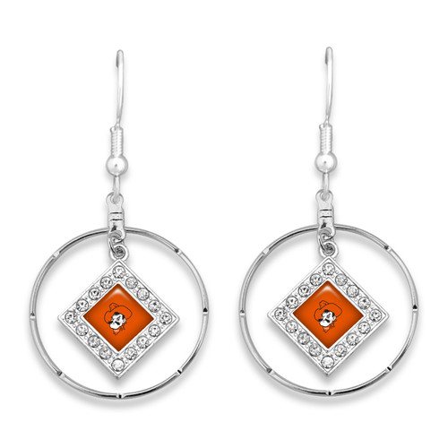 Oklahoma State Cowboys Earrings- Ellie