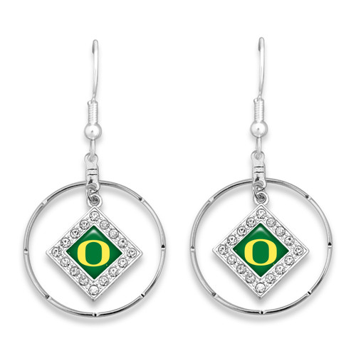 Oregon Ducks Earrings- Ellie