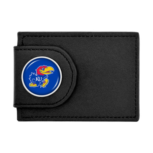 Kansas Jayhawks Wallet Money Clip