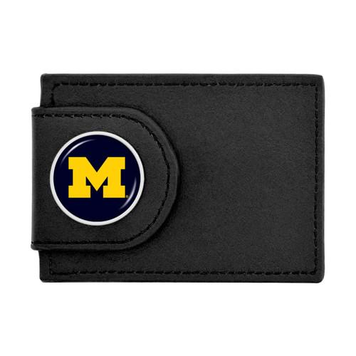 Michigan Wolverines Wallet Money Clip
