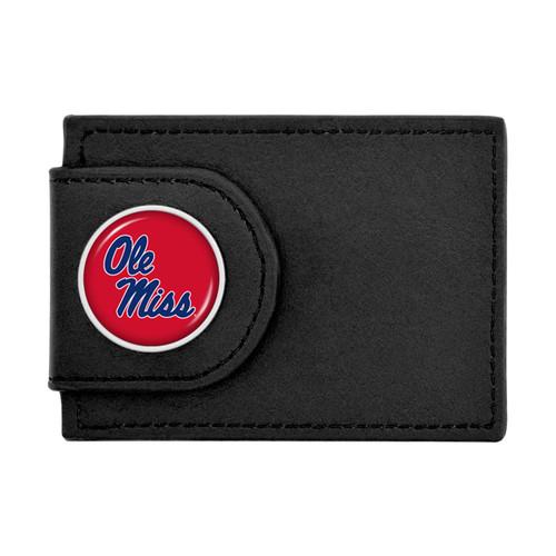 Ole Miss Rebels Wallet Money Clip
