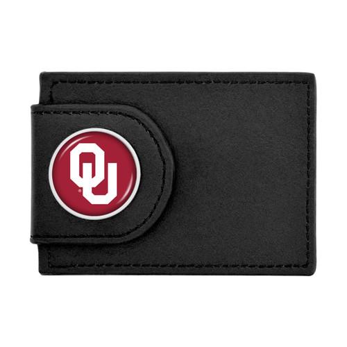 Oklahoma Sooners Wallet Money Clip