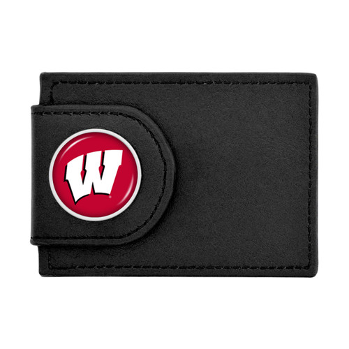 Wisconsin Badgers Wallet Money Clip