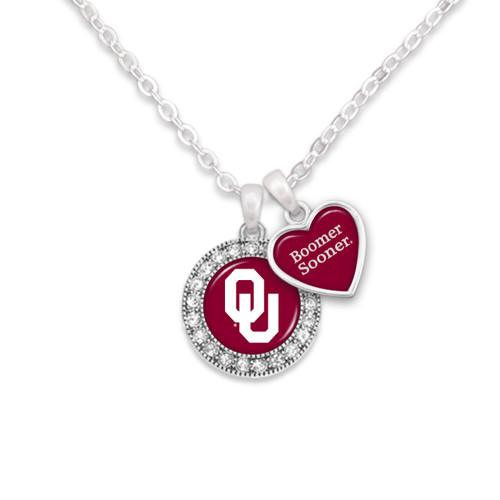 Spirit Slogan College Necklace