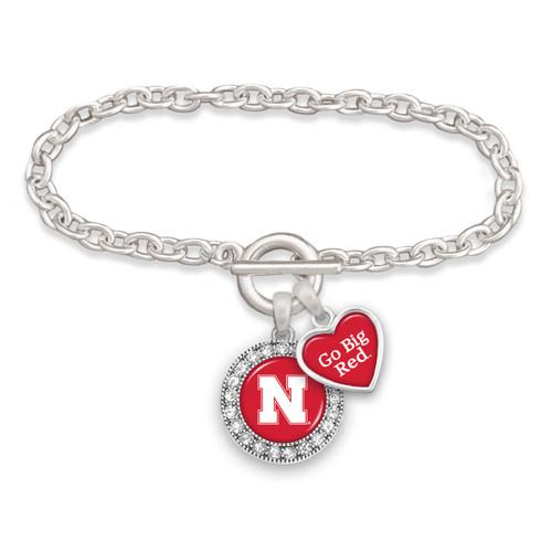 Spirit Slogan Toggle College Bracelet