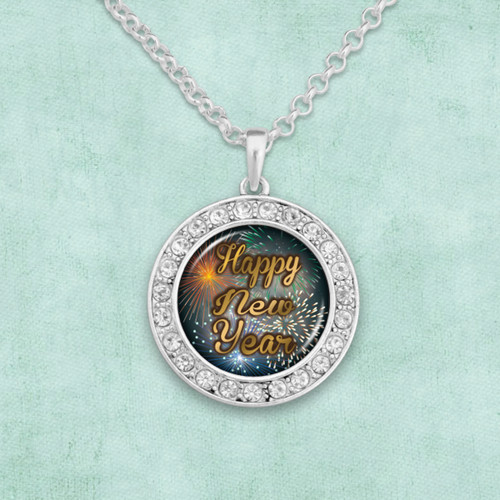 Happy New Year Artisan Necklace