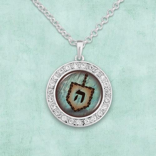 Hanukkah Dreidel Artisan Necklace