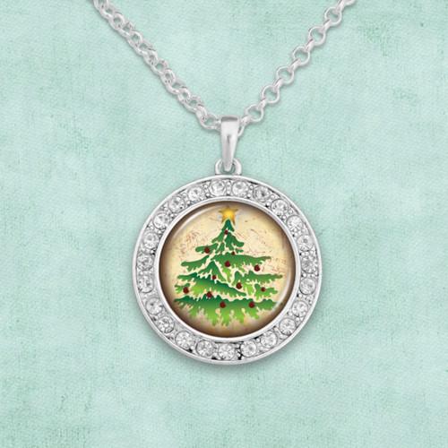 Christmas Tree Artisan Necklace