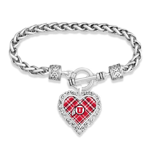 Choose Any College Bracelet- Plaid