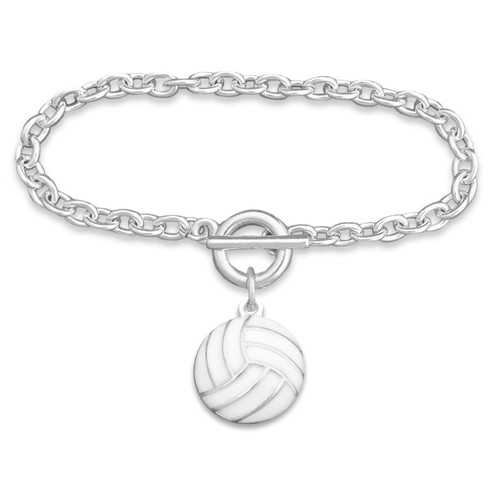 Enamel Volleyball Bracelet