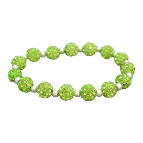 Lime My Team Bling Stretch Bracelet