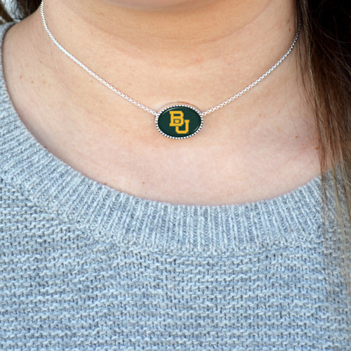 High School Necklace/Choker- Kennedy (Adjustable Slider Bead)
